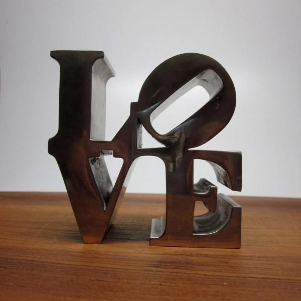 Love Paperweight Robert Indiana Sculpture Replica