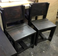 Chair / simple chair / reclaimed rustic chair by ModernRust