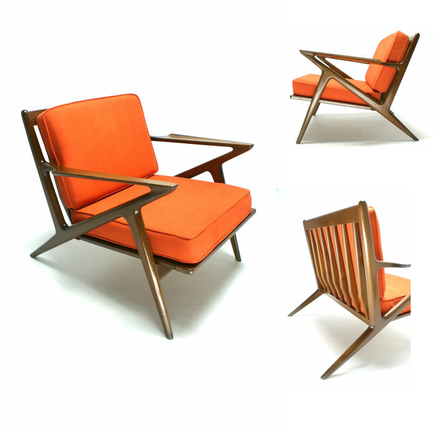 z chair mid century 4 patio set the 60s modern danish selig poul jensen