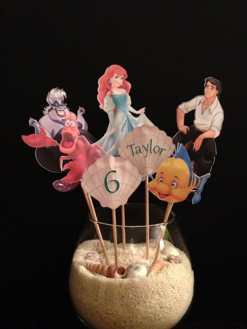 Items Similar To Disney Princess Party Centerpiece Beauty