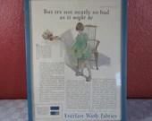 Vintage July 1923 Framed ...