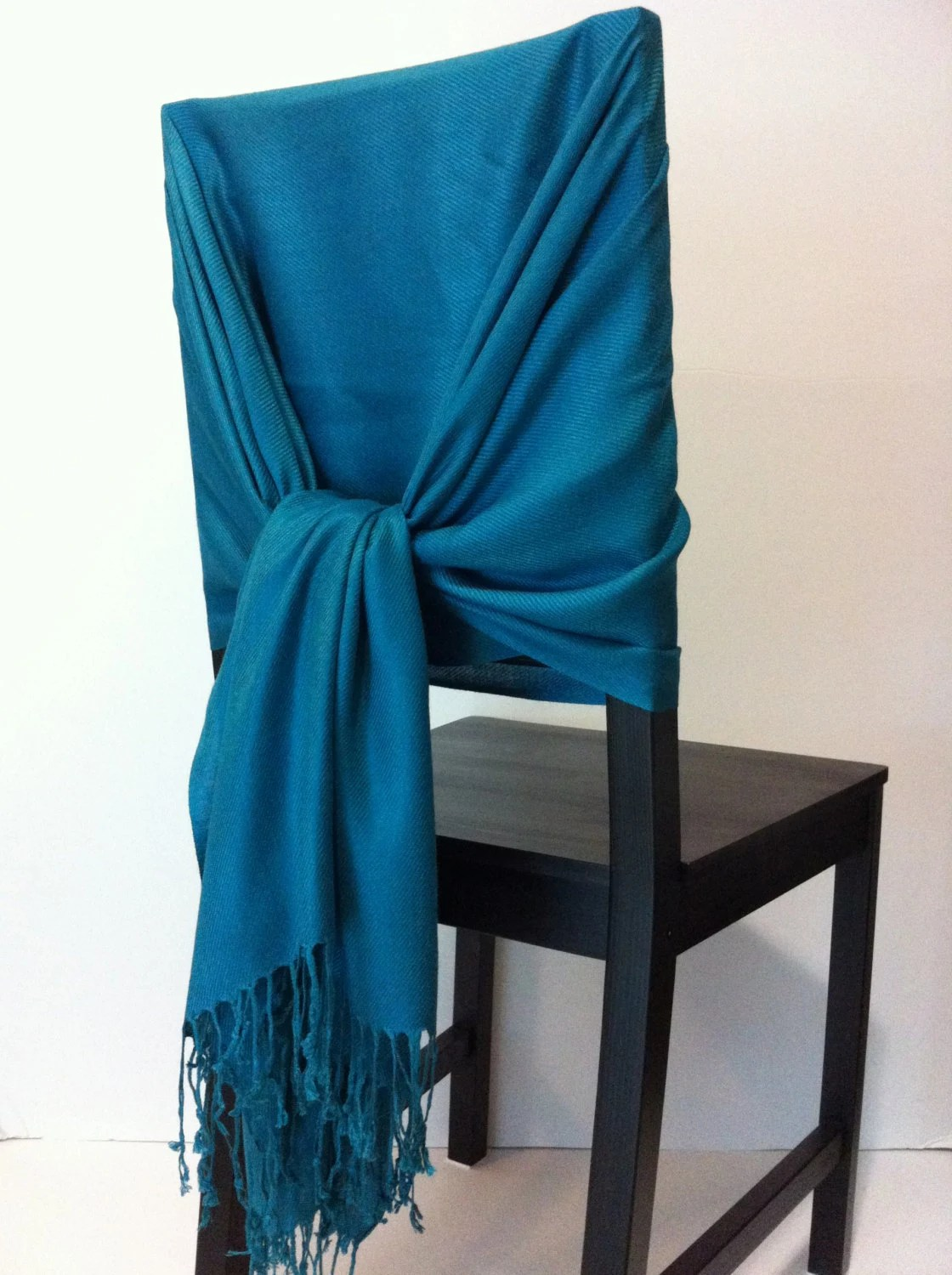 teal chair covers for wedding bicycle seat desk pashmina scarf shawls
