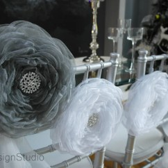 Flower Chair Sashes For Wedding Drive Medical Large 10 Organza Bridal Sash By