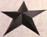 24 Large Metal Tin Barn Star Wall Decor