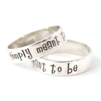 Nightmare Rings Jack and Sally Rings Simply Meant to Be