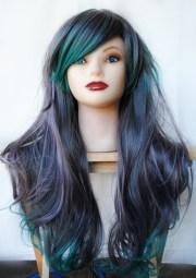 green wig cosplay scene