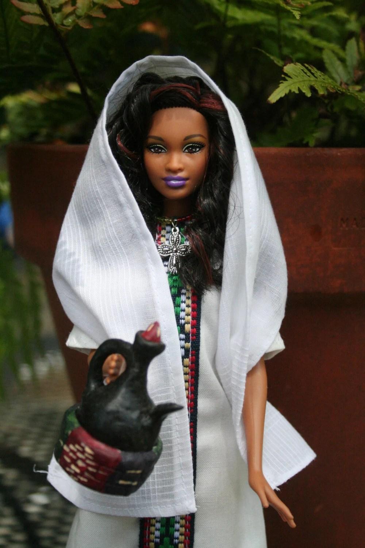Ethiopian Coffee Ceremony Doll Meron