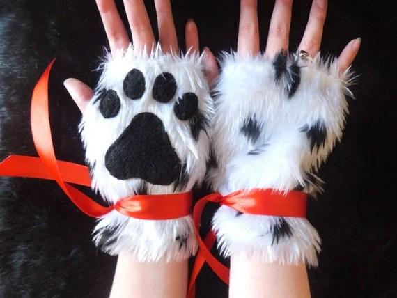 White Furry Dog