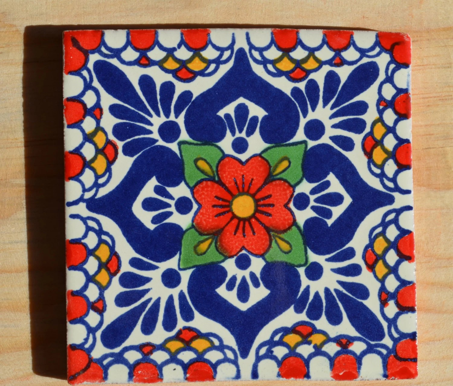 90 Mexican tiles hand painted