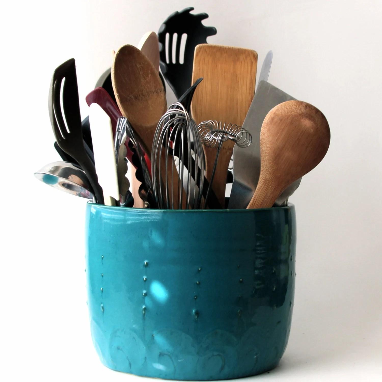 kitchen utensil caddy outdoor plans free holder deals on 1001 blocks