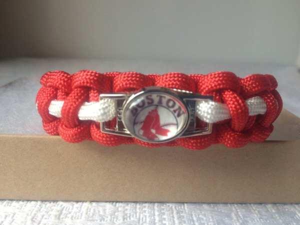Boston Red Sox' Paracord Bracelet