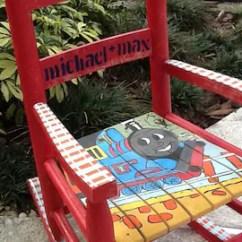 Florida Gator Rocking Chair Upcycled Desk University Of Gators Colors Children's