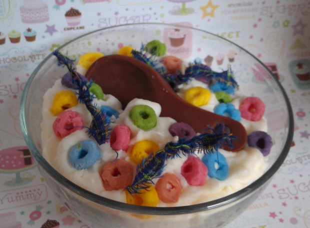 Fruit Loops Candle Bowl