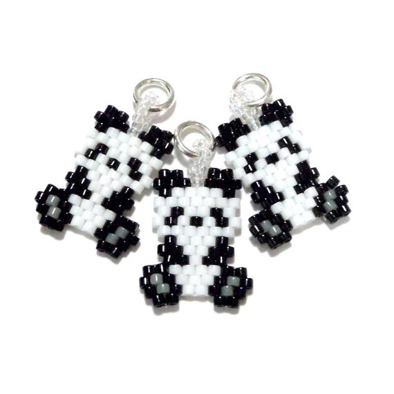 Seed Bead Designs and Other Crafts: Free Mini Panda