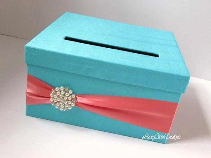 Wedding Card Box Money Holder Gift Card Boxes Reception Card