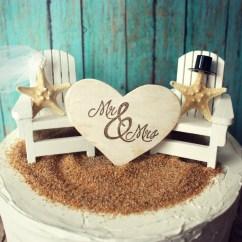 Beach Wedding Chair Decoration Ideas Vintage Style Desk Adirondack Chairs Cake