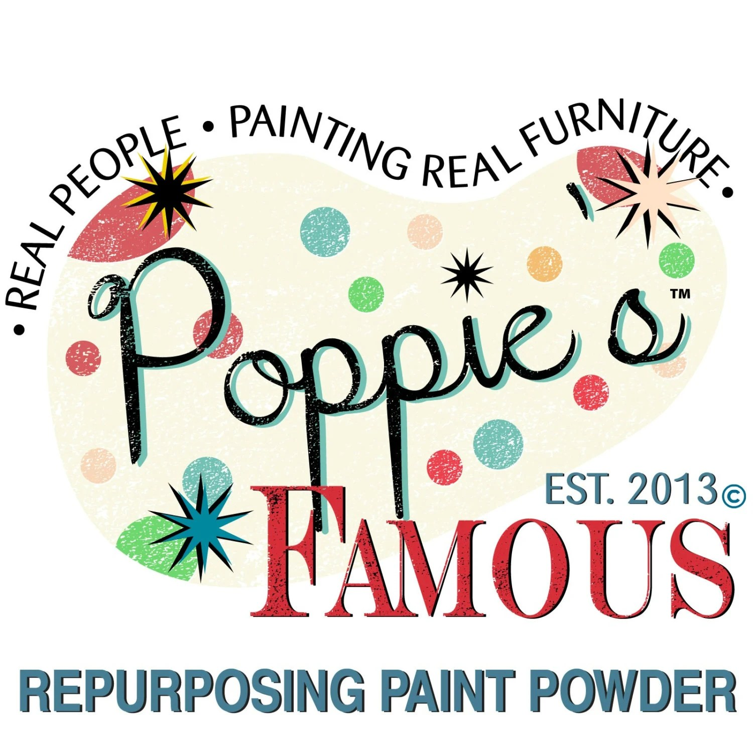 Items Similar To Poppie's Famous Repurposing Paint Powder