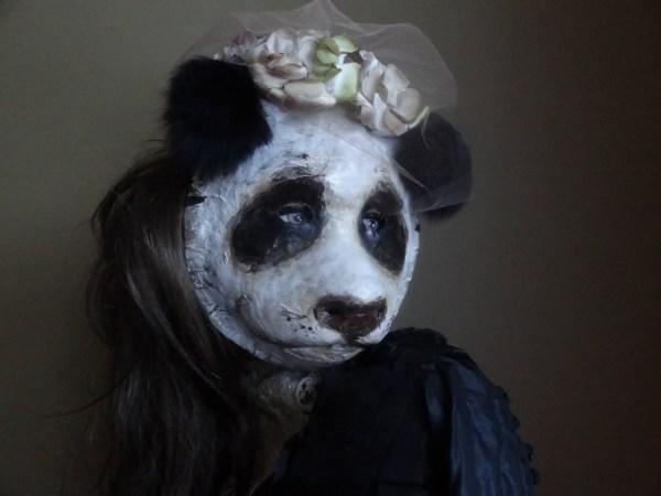 Masquerade Mask Halloween Panda Costume