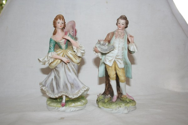 Lefton China Collectible Porcelain Figurine Mildred & George