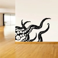 Perfect Octopus Wall Decals - Home Design #943