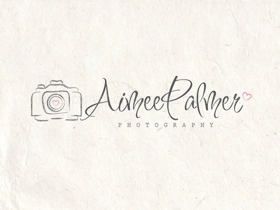 Photography logo design photography Watermark camera logo.