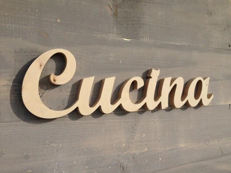 Cucina Italiana Italian Word For Kitchen Kitchen Sign By SunFla
