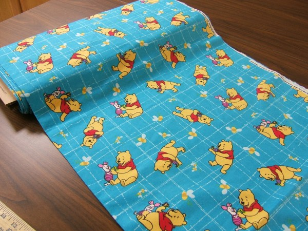 Winnie Pooh Flannel Fabric Bees And Honey
