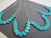 Items similar to Set of 4, Turquoise wedding Jewelry ...