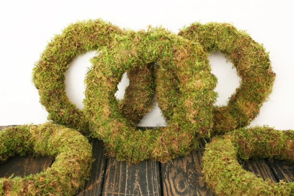 Wreath Oregon Moss Covered