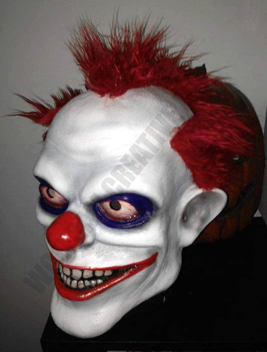 Halloween Sminkningar Clown.Creepy Clown Schminken