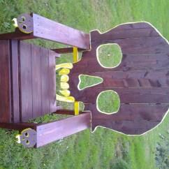 Skull Chair Invisible Prank Pattern Plans Onlyadirondack