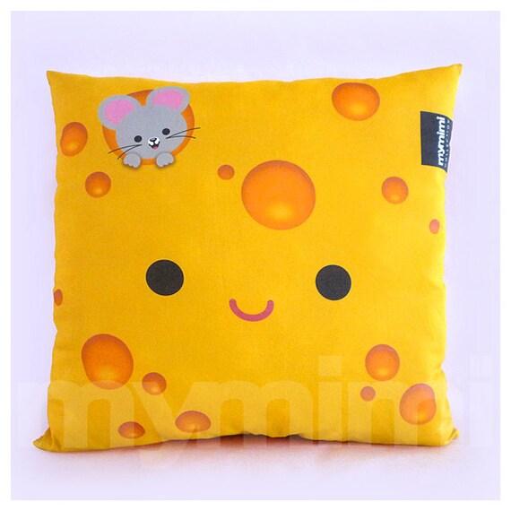Decorative Pillow Cheese Pillow Food Pillow Cotton Pillow