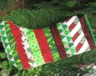 Seminole Patchwork Christmas Stocking