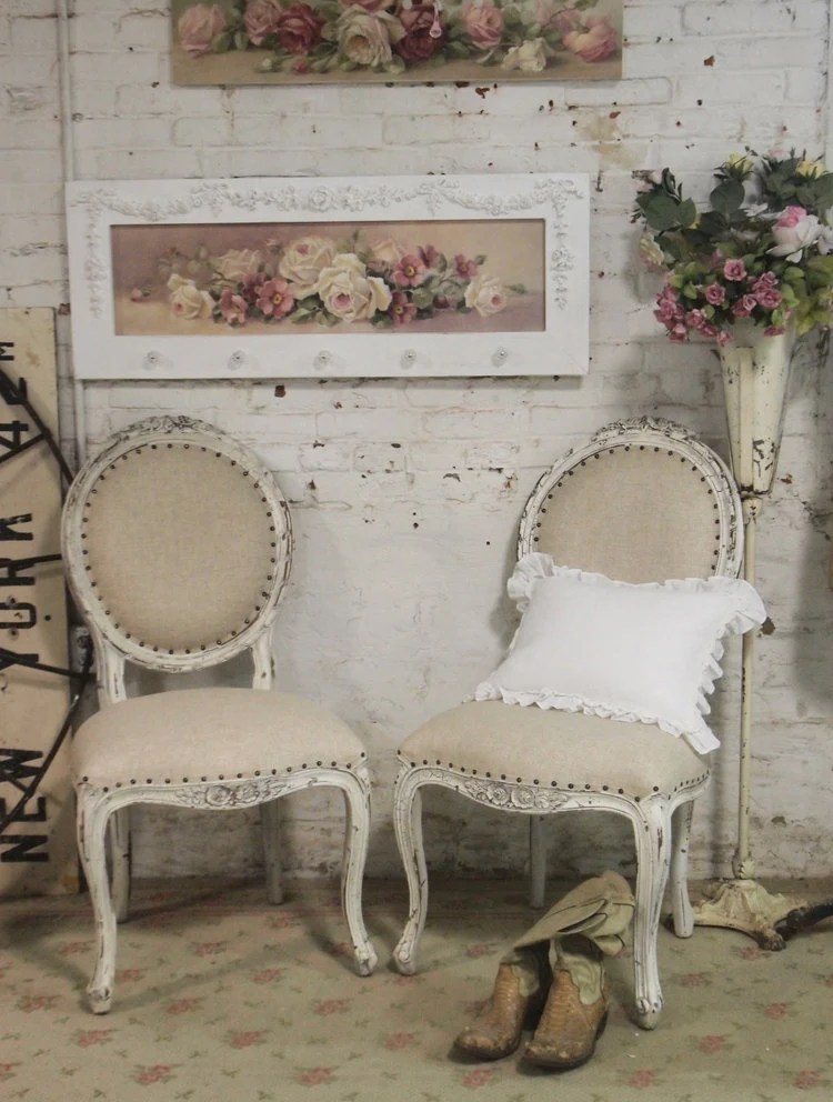 dining chairs canada upholstered chair design with handle painted cottage chic shabby farmhouse by paintedcottages