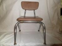 Mid Century Virco Class Room Chair by thelongacreflea on Etsy