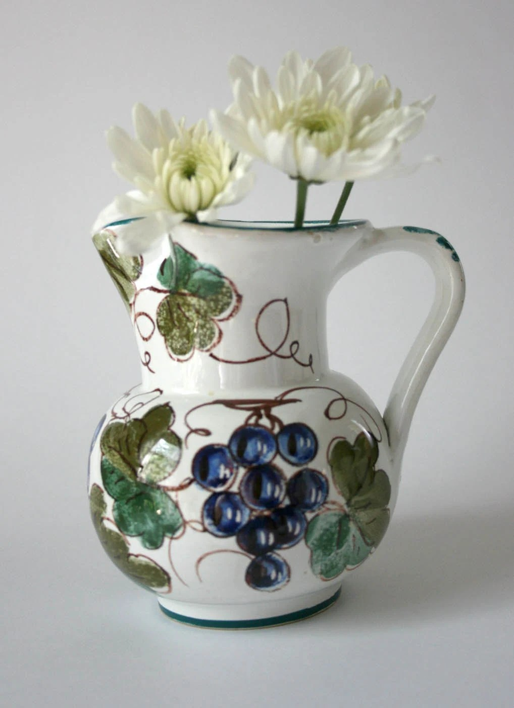 Items similar to Vintage Pitcher Made in Italy hand