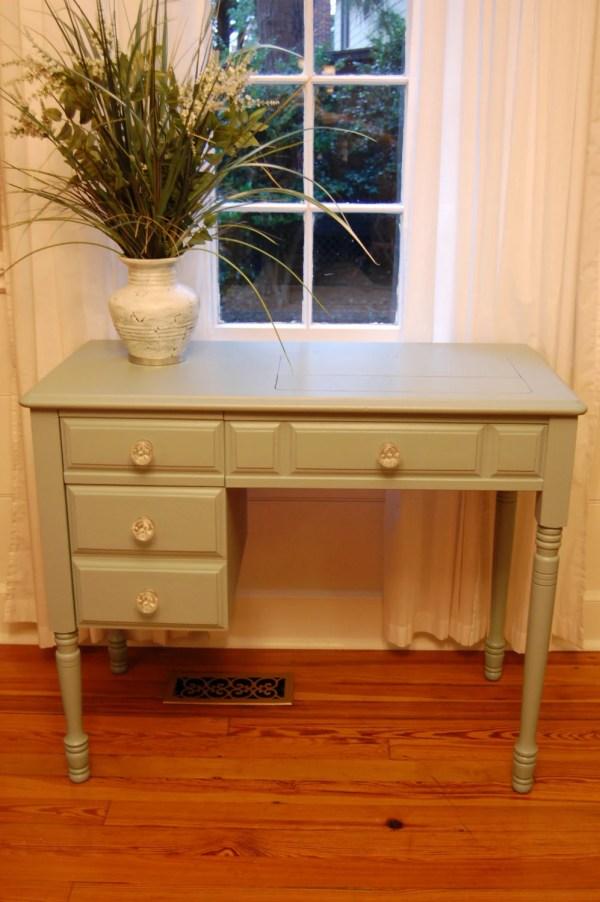 Vintage Wood Desk Pottery Barn Color Vanity