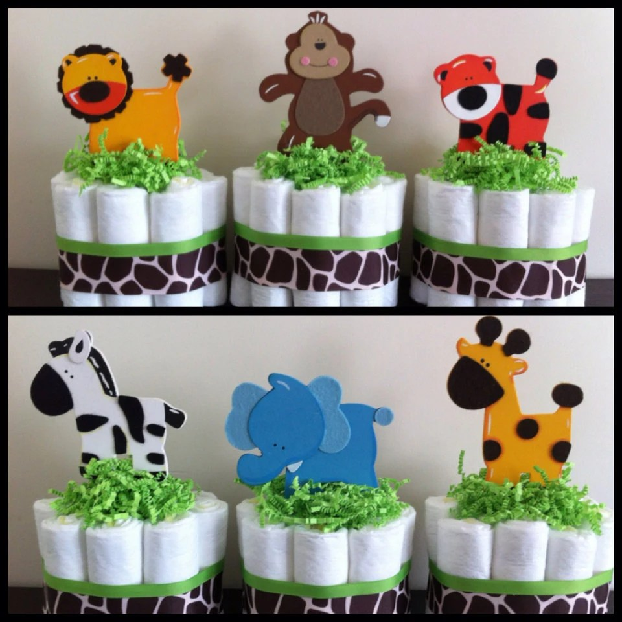 Safari Baby Shower Centerpieces Ideas
