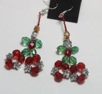 Poinsettia Earrings by JTiffMusings on Etsy