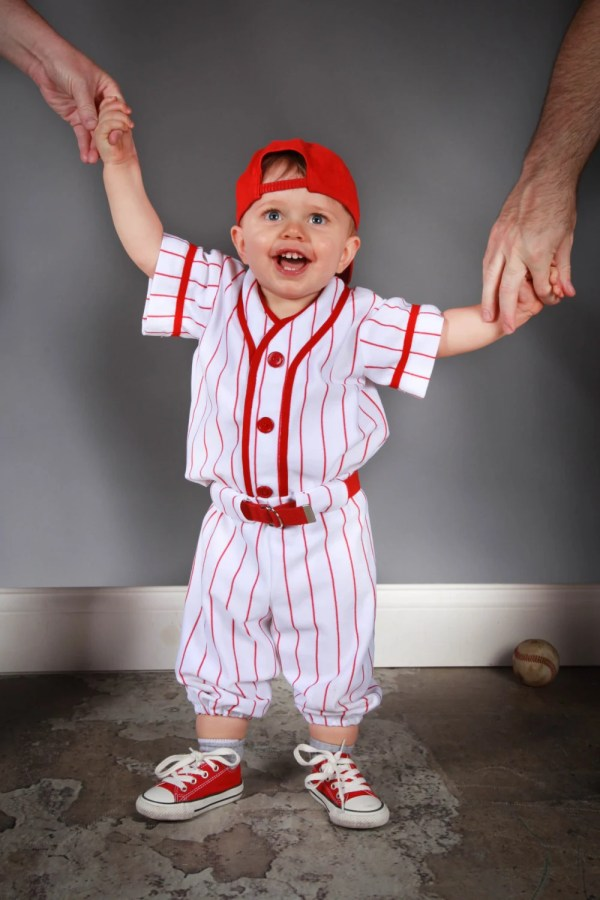 Toddler Baseball Uniform Costume