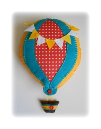 "Items similar to Hot Air Balloon Wall Decor (15""x11 ..."