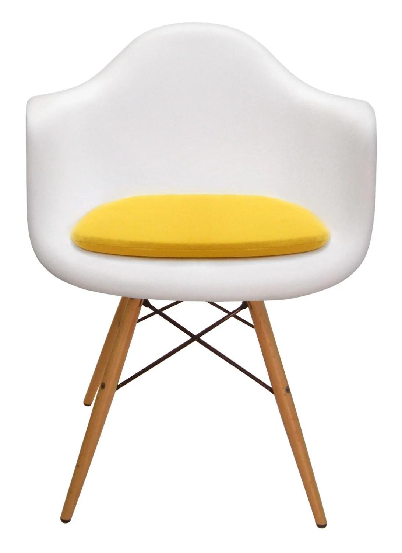 eames chair cushion spandex covers ireland custom for molded plastic arm by studiocityloft
