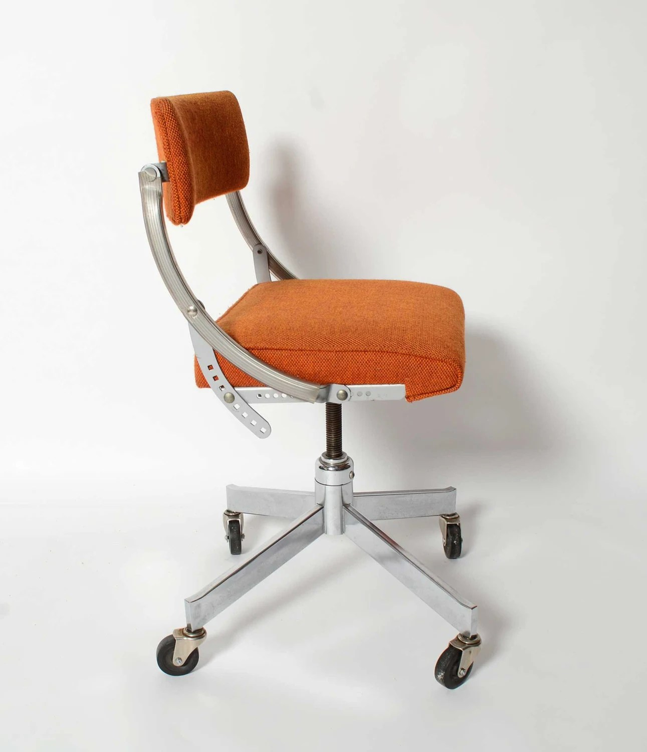 Domore Office Chair Mid Century Modern Industrial Steel Chic