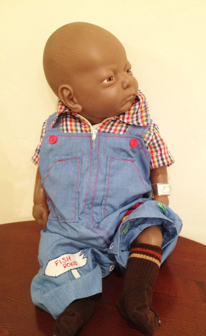 Vintage Anatomically Correct Doll/ 19 Doll/ Vintage