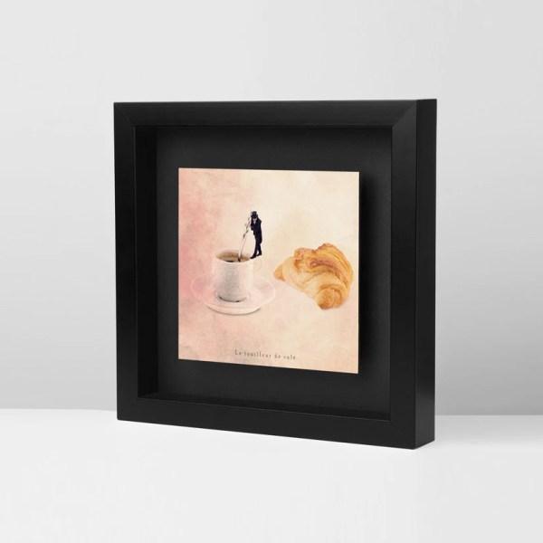 Coffee Parisian Decor Frames Modern Art