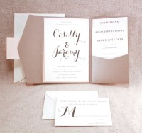 Wedding Invitation Set Sophisticated elegance by ...