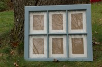Vintage // Recycled // Salvaged // 5 x 7 Six Pane by ...