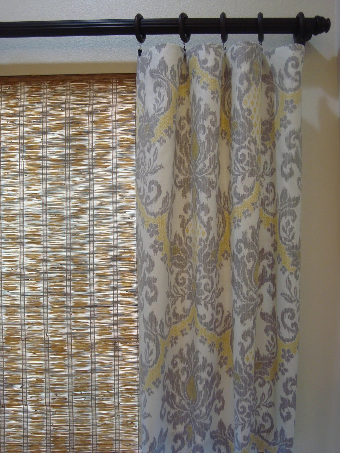 Waverly Curtains Damask Curtain Panels Waverly Bedazzle Silver
