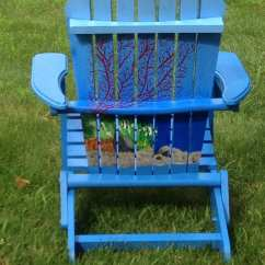 Ideas For Painting Adirondack Chairs Chair Cover Rentals Grand Rapids Hand Painted