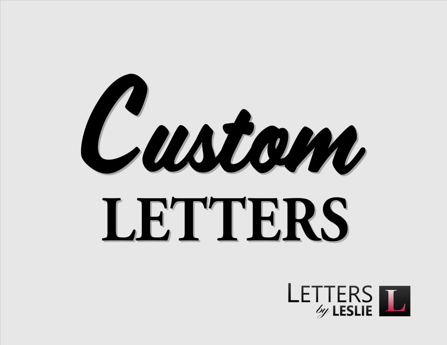 Custom letters signs and plaques logos custom wood routing